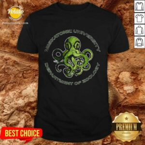 Cthulhu Lovecraft Miskatonic University Department Of Zoology Shirt
