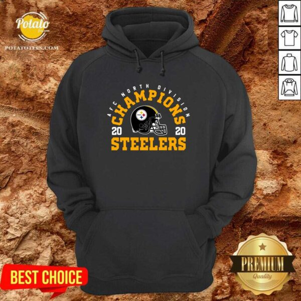 Afc North Division Champions 2020 Pittsburgh Steelers Hoodie - Design By Potatotees.com