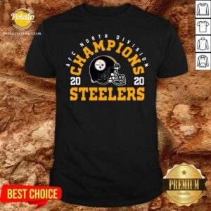Afc North Division Champions 2020 Pittsburgh Steelers Shirt - Design By Potatotees.com