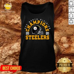 Afc North Division Champions 2020 Pittsburgh Steelers Tank-Top - Design By Potatotees.com
