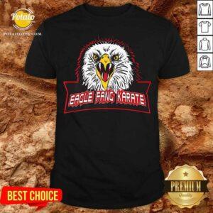 Cobra Kai Eagle Fang Logo Shirt - Design By Potatotees.com
