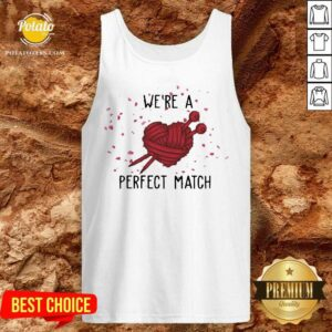 Crochet We're A Perfect Match Valentine Tank-Top