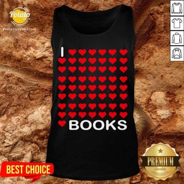 I Looooove Books Tank-Top