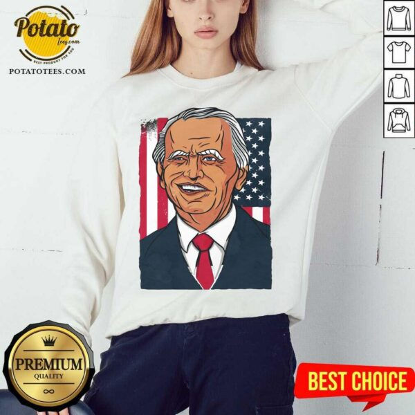 Official Joe Biden 2020 American Sweatshirt- Design By Potatotees.com