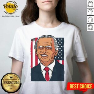 Official Joe Biden 2020 American V-neck- Design By Potatotees.com
