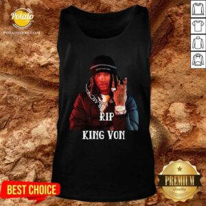 Official Rip King Von Tank-Top- Design By Potatotees.com