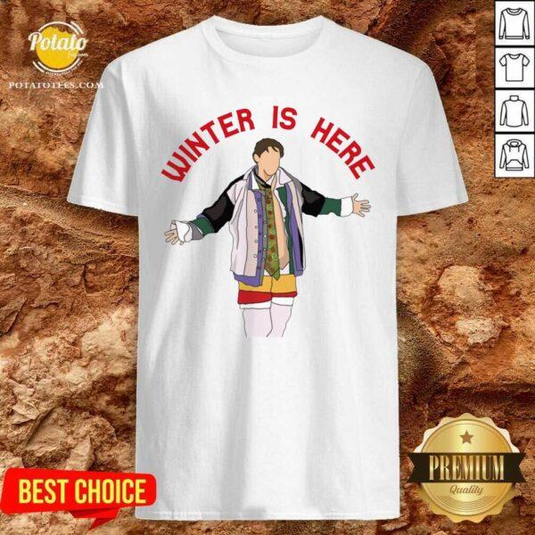 Original Joey Winter Is Here Shirt- Design By Potatotees.com
