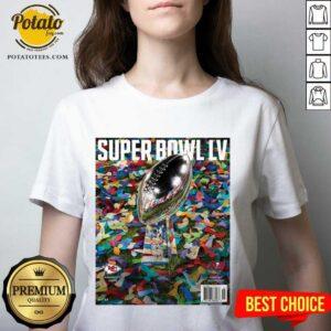 Tampa Bay Buccaneers Vs Kansas City Chiefs Super Bowl LV Champion 2021 V-neck