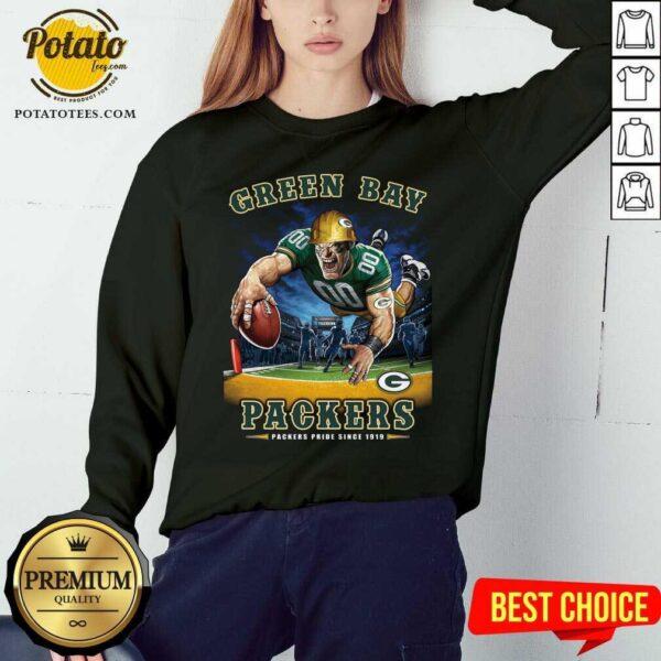 Green Bay Packers Packers Pride Since 1919 Sweatshirt