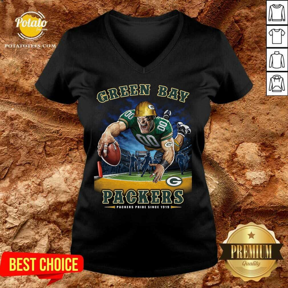 Green Bay Packers Packers Pride Since 1919 V-neck