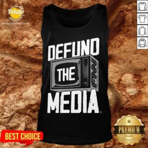 Defund The Media Tank-Top