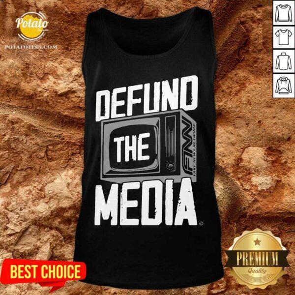 Defund The Media Tank-Top