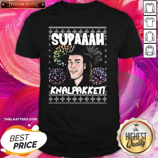 Premium Supa Anh Knal Pakket Ugly Christmas Shirt - Design By Potatotees