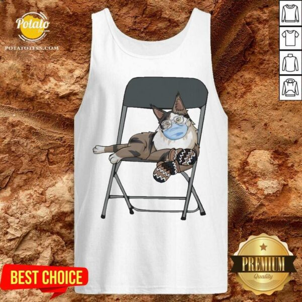 Maine Coon Mittens Face Mask 2021 Tank-Top