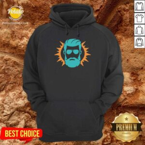 Miami Dolphins Ryan Fitzpatrick Face Hoodie - Design By Potatotees.com