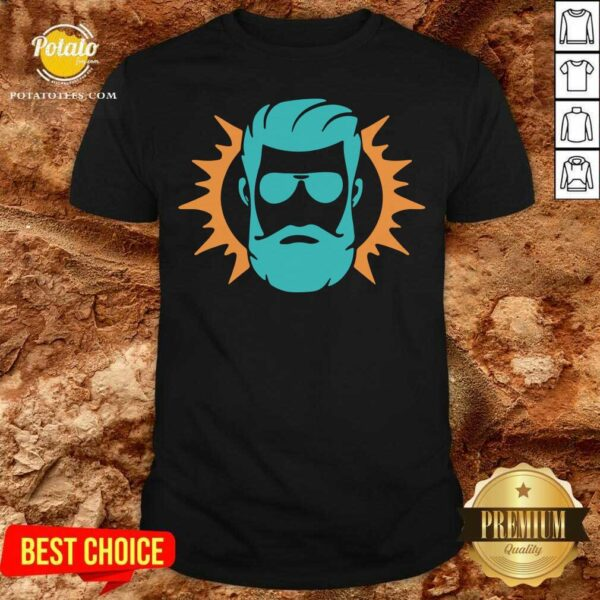 Miami Dolphins Ryan Fitzpatrick Face Shirt - Design By Potatotees.com