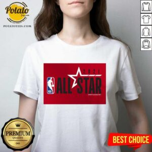 NBA All Star 2021 Sports Logo V-neck