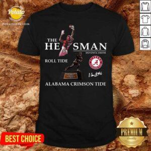 The He Man Devonta Smith Roll Tide Alabama Crimson Tide Signature Shirt - Design By Potatotees.com