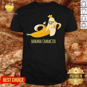 Banana Character Jokers Shirt