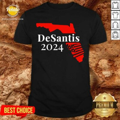 Nice American Florida Desantis 2024 Shirt