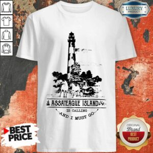 Nice Assateague Island Is Calling And I Must Go Shirt