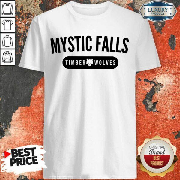Top Vampire Diaries Mystic Falls Timberwolves Shirt