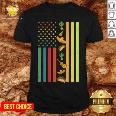 American Flag Easter Shirt- Design By Potatotees.com