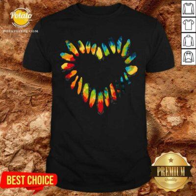 Hippie Heart Shirt- Design By Potatotees.com