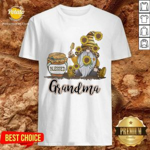 Apayprint Blessed Grandma Gnome Bee Personalized Shirt