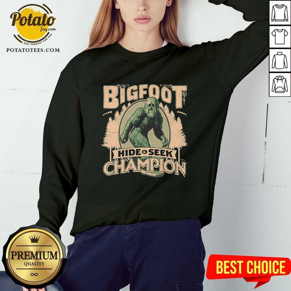 Bigfoot Hide And Seek Champion Sweatshirt