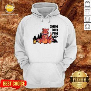 Dinosaur Camping Shuh Duh Fuh Cup Hoodie