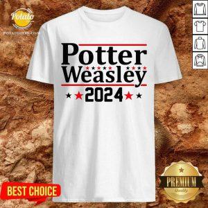 Funny Potter Weasley 2024 Shirt- Design By Potatotees.com