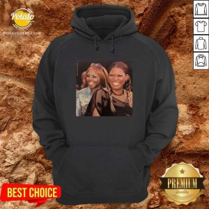 Lil Kim And Queen Latifah Hoodie- Design By Potatotees.com