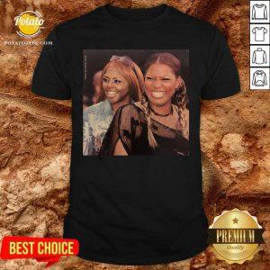Lil Kim And Queen Latifah Shirt- Design By Potatotees.com