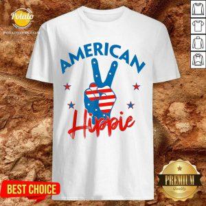 Pretty American Hippie Shirt