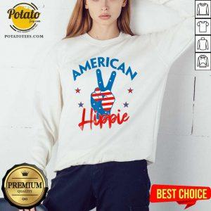 Pretty American Hippie Sweatshirt