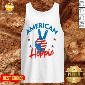 Pretty American Hippie Tank Top
