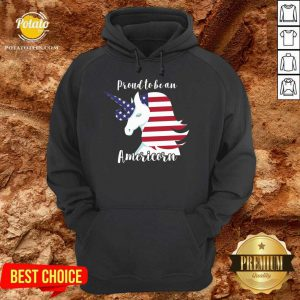 Proud To Be An Americon Unicorn Hoodie