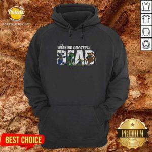 The Walking Grateful Dead Hoodie- Design By Potatotees.com