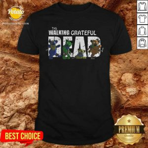 The Walking Grateful Dead Shirt- Design By Potatotees.com